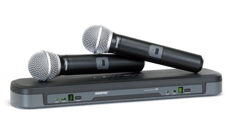 Радиомикрофоны SHURE
