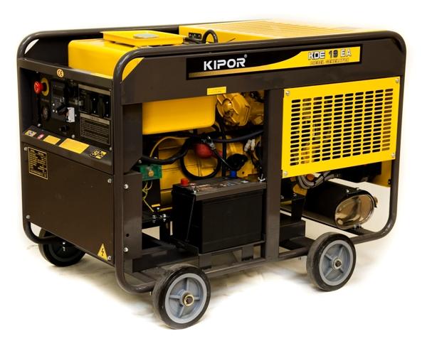 Электрогенератор мощностью 15 кВт