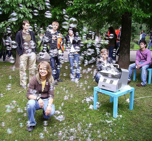 генератор мыльных пузырей для свадеб и детских праздников