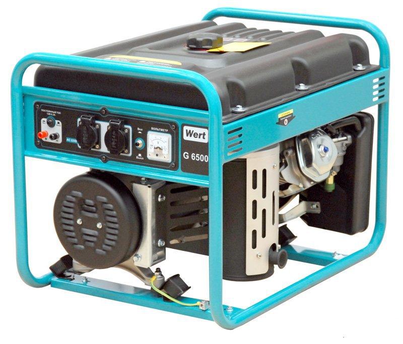 Аренда электрогенератора мощностью 5.5 кВт, прокат генератора